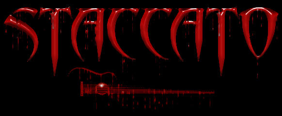 Staccato Logo Blood by par-me