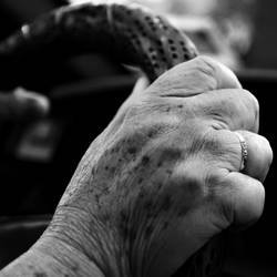 Grand Father's hand by khanhfat