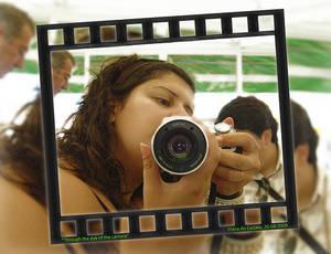 Me through the camera