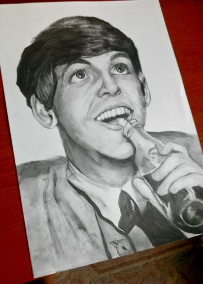 Paul McCartney by Ageen