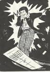 Sketch:  The Cosmic Hobo