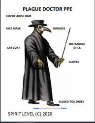 Plague Doctor PPE
