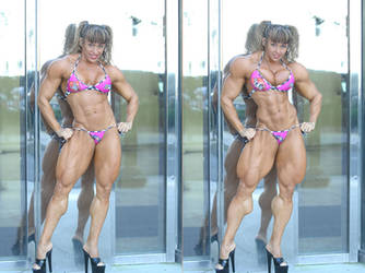 muscle morph unk1 comparison by Arceexx