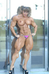 muscle morph unknown topless by Arceexx