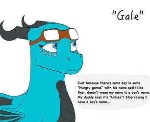 Gale's conundrum by Dantedragon