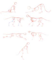 Body study sketches by Dantedragon