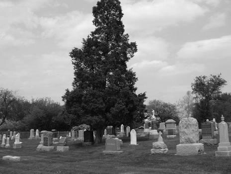 Graveyards.