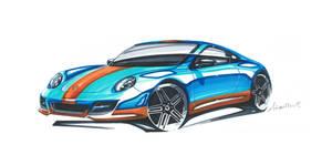 Porsche 911 Gulf by Frenchtouch29