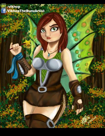 Dragon Fairy by vikhop