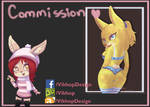 Commssion Yellow Bunny
