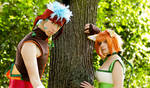 Lethe X Ranulf Cosplay by Berry-Cosplay
