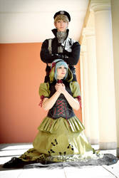 Setsuna x Jibril Cosplay by Berry-Cosplay