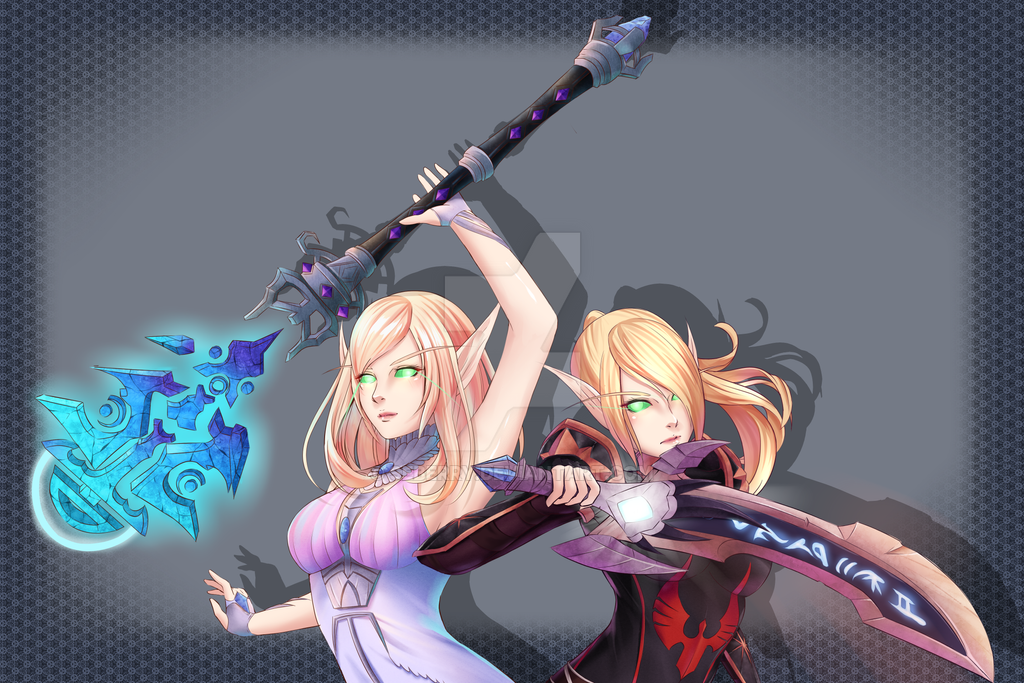 Blood Elf [Commission] by seberry
