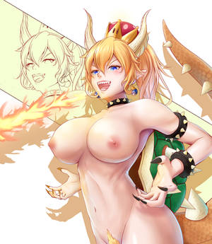 Bowsette NSFW by seberry