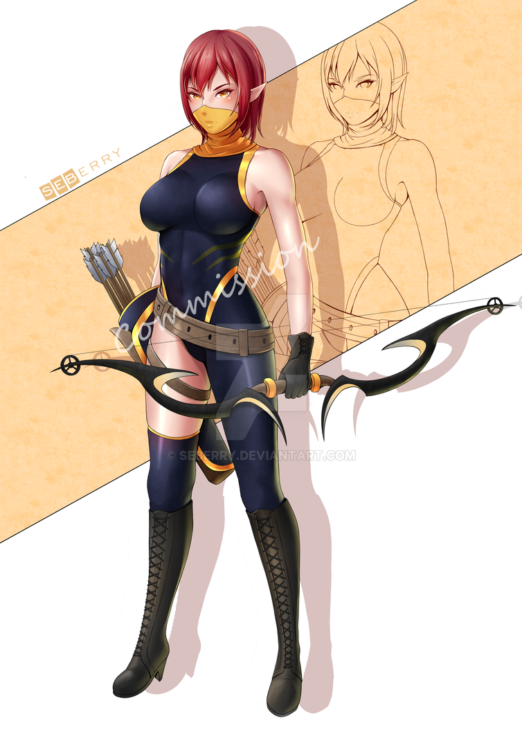 Archer [Commission] by seberry