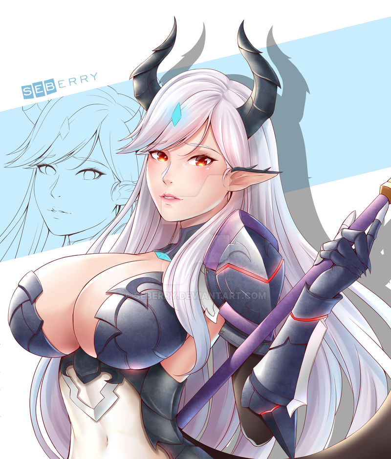 Luna Bianca [Epic Seven] by seberry