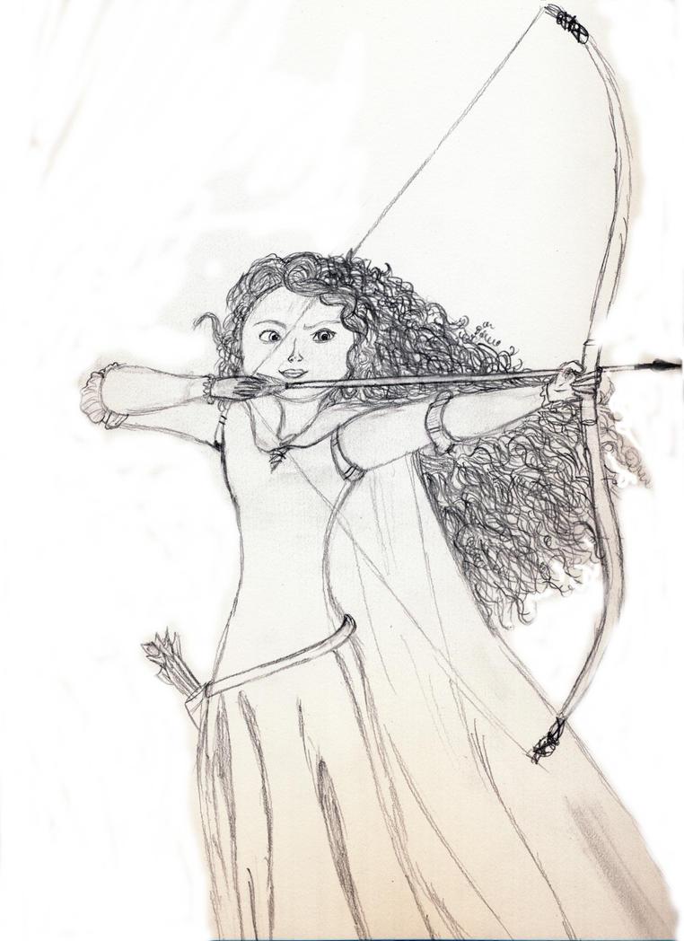 Uncategorized Merida Drawings merida drawing by tinkerbellxtangled on deviantart tinkerbellxtangled