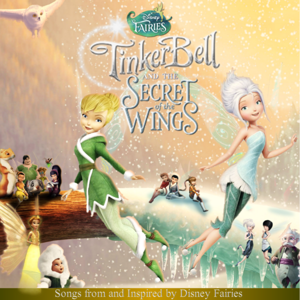 Weird Secret Of The Wings CD Cover By TinkerBellxTangled
