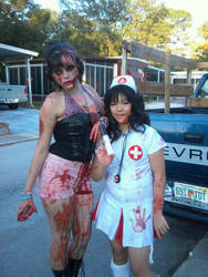 A Nurse and her Patient