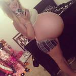big pregnant belly