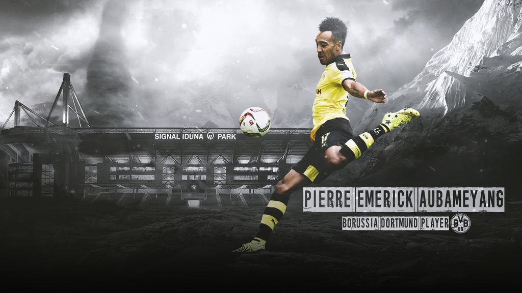 Pierre Emerick Aubameyang by LL-Lopez