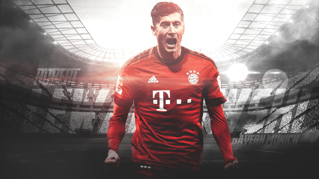 Robert Lewandowski by LL-Lopez
