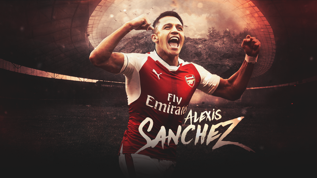 Alexis Sanchez by LL-Lopez