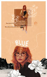 TAEYEON.blue by lalaluviv