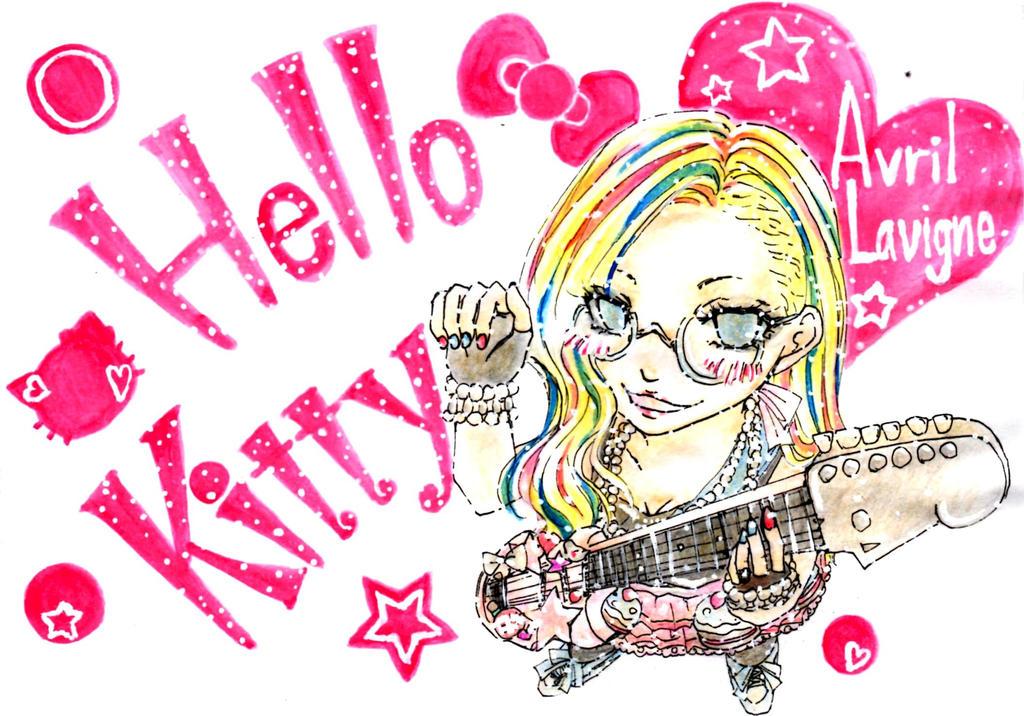 Avril Lavigne Hello Kitty by blaiseharuna on DeviantArt Avril Lavigne Songs