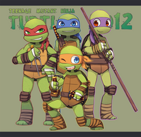 TMNT 2012 by Wusagi2