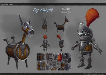 Toy Knight by HaoyuZhang