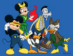 Disney Marvel Mashup
