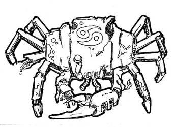 Zombot Zodiac: Cancer by Striogi