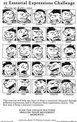 25 Expression Challenge James
