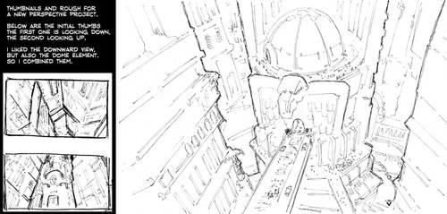 Perspective Sketch Uritoss IV by Striogi