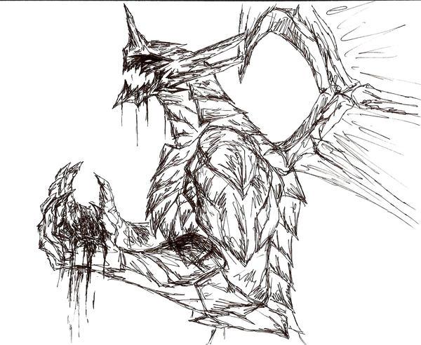Demon Dragon by Kinzoku-Hyoukai on DeviantArt