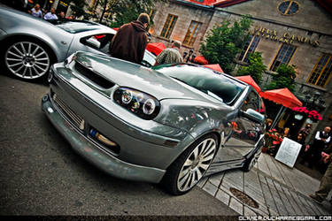 400 tires show: GOLF mk4 by TiOLSTYLE