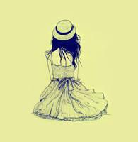 girl by mahinaz
