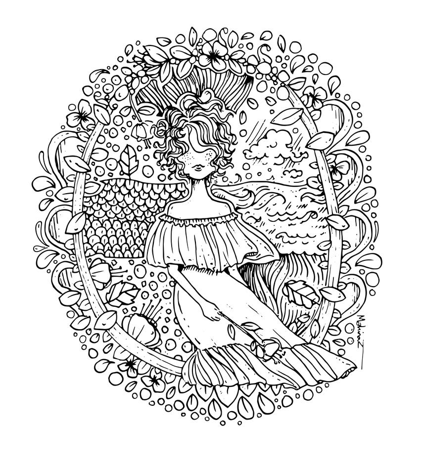 Coloring page by mahinaz