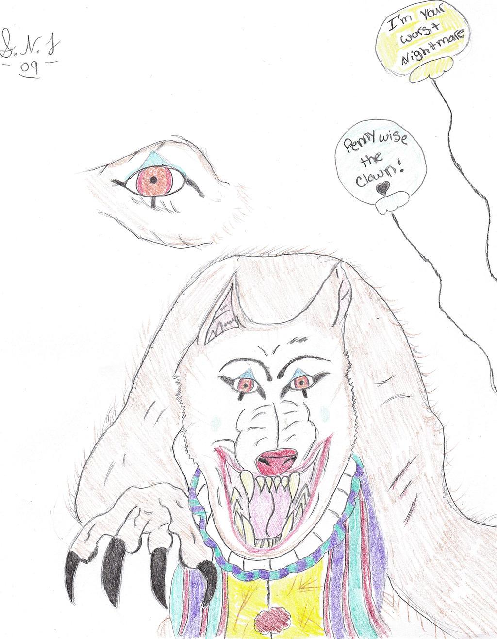 Pennywise werewolf