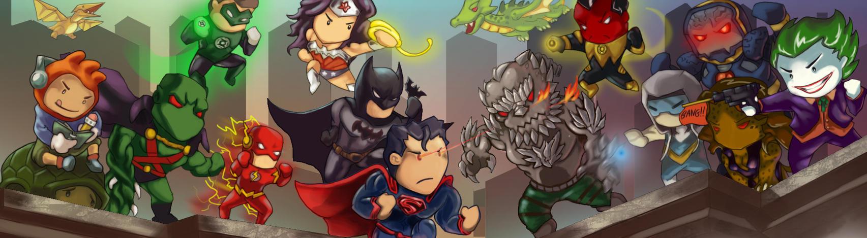 JLA vs Forever Evil by Arcsh