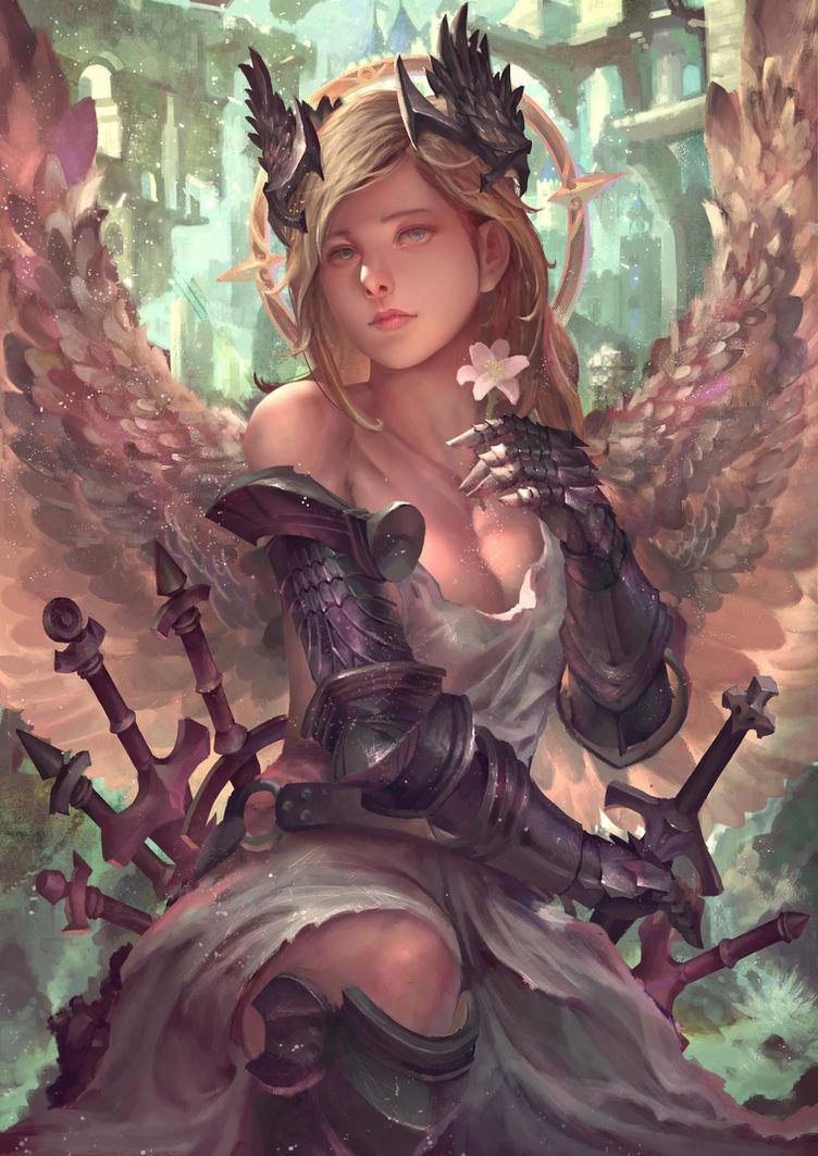 Archangel Jophiel by Arcsh