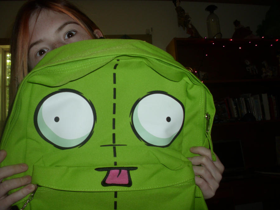 my gir book bag by Starrthehedgehog98