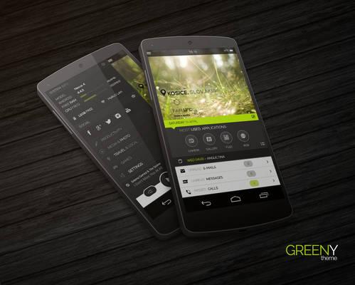 Greeny Theme
