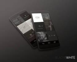BlackWhite Theme