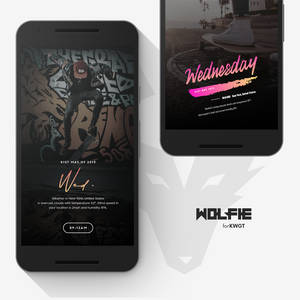 Wolfie for KWGT
