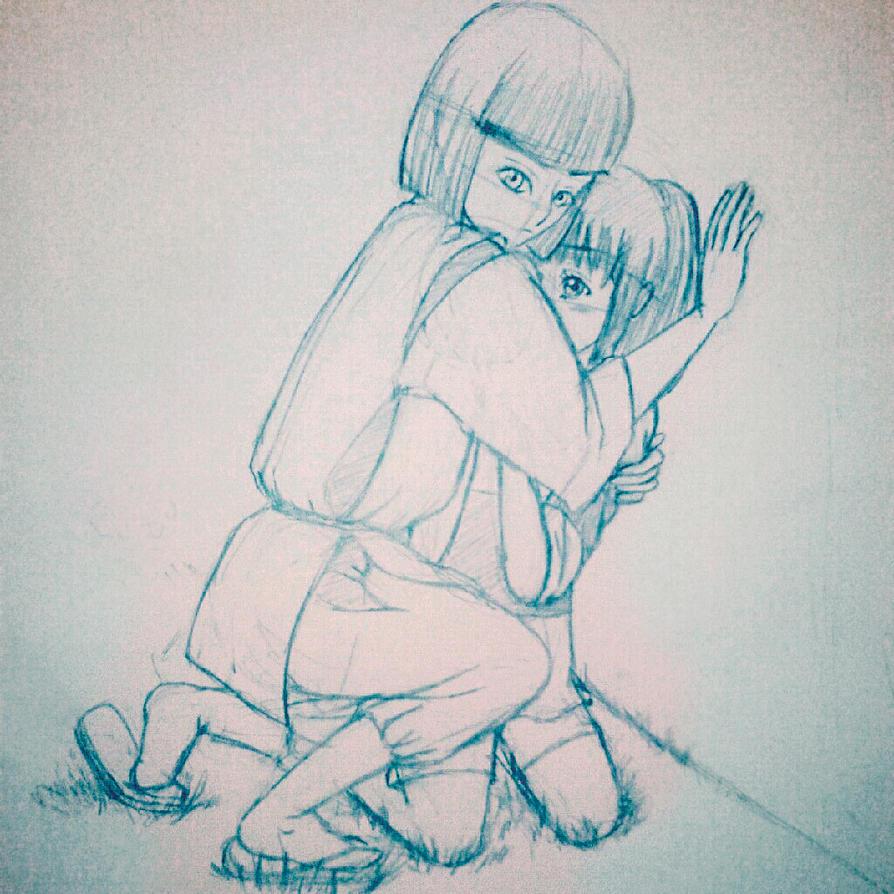 Childhood memories. Sen to Chihiro no Kamikakushi by xBrokenRedRosex