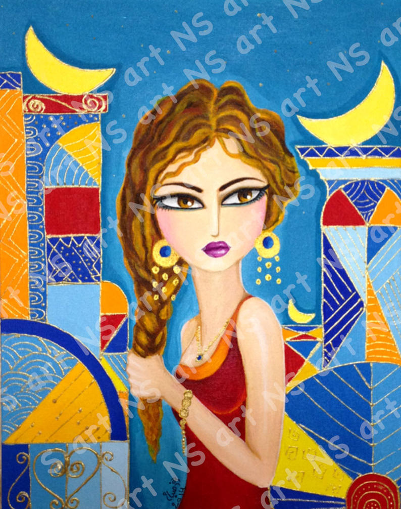 baghdad girl by noorhenry