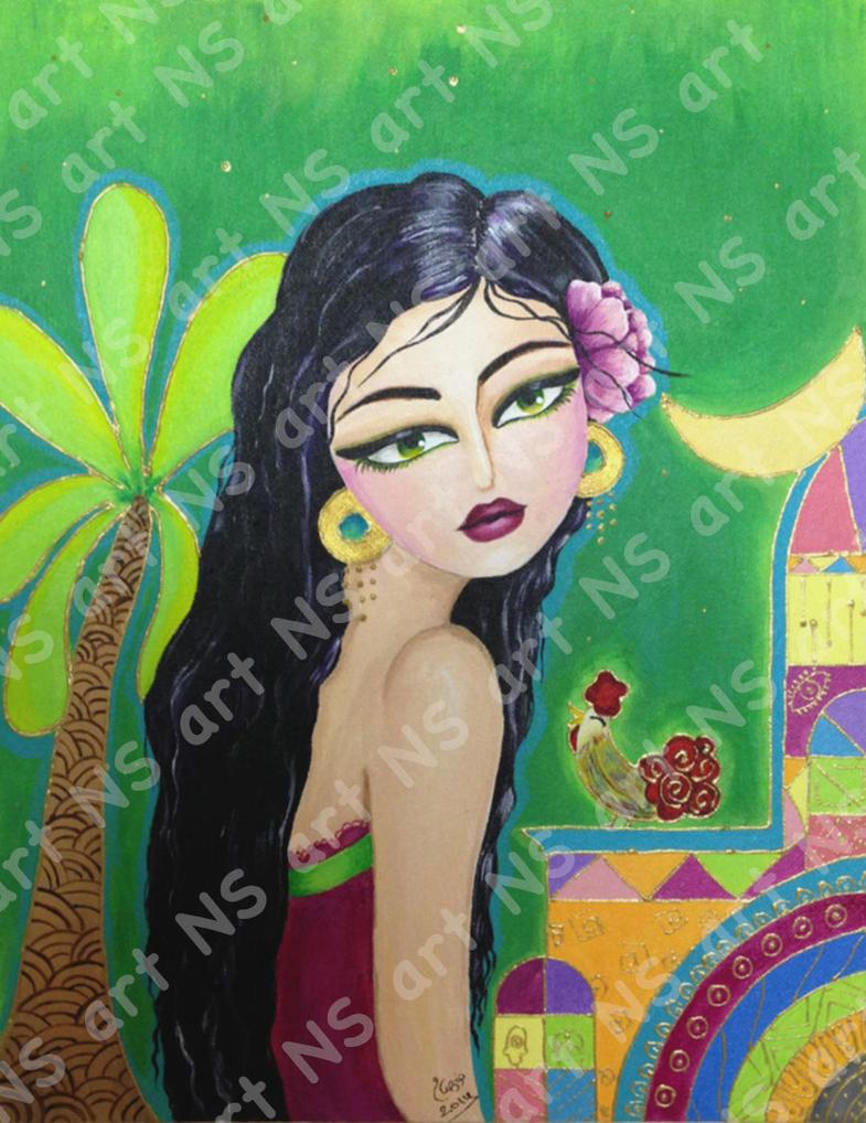 Baghdad girl 2 by noorhenry