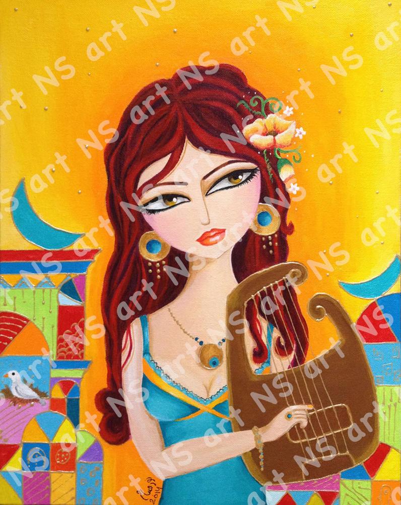 Baghdad girl3 by noorhenry